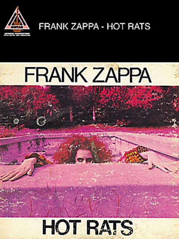 Hal Leonard - Frank Zappa Hot Rats Guitar Tab Book