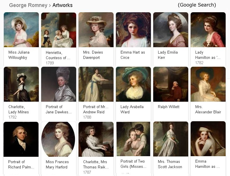 George Romney Artworks, Google Search