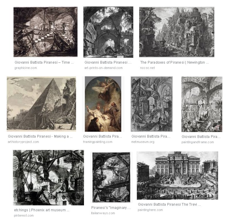 Giovanni Battista Piranesi Artworks