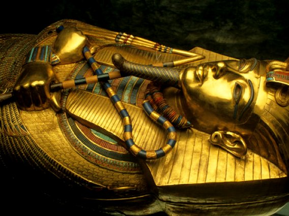 Golden Coffin of Tutahkhamun, Egypt