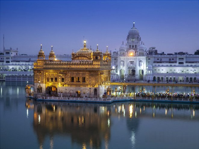 India, Punjab, Amritsar, the Harmandir Sahib,  Known As the Golden Temple