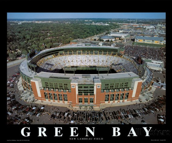 Green Bay Packers Posters and Photographic Prints