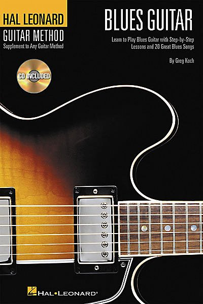 Hal Leonard - Guitar Method - Blues Guitar (Book/Cd)