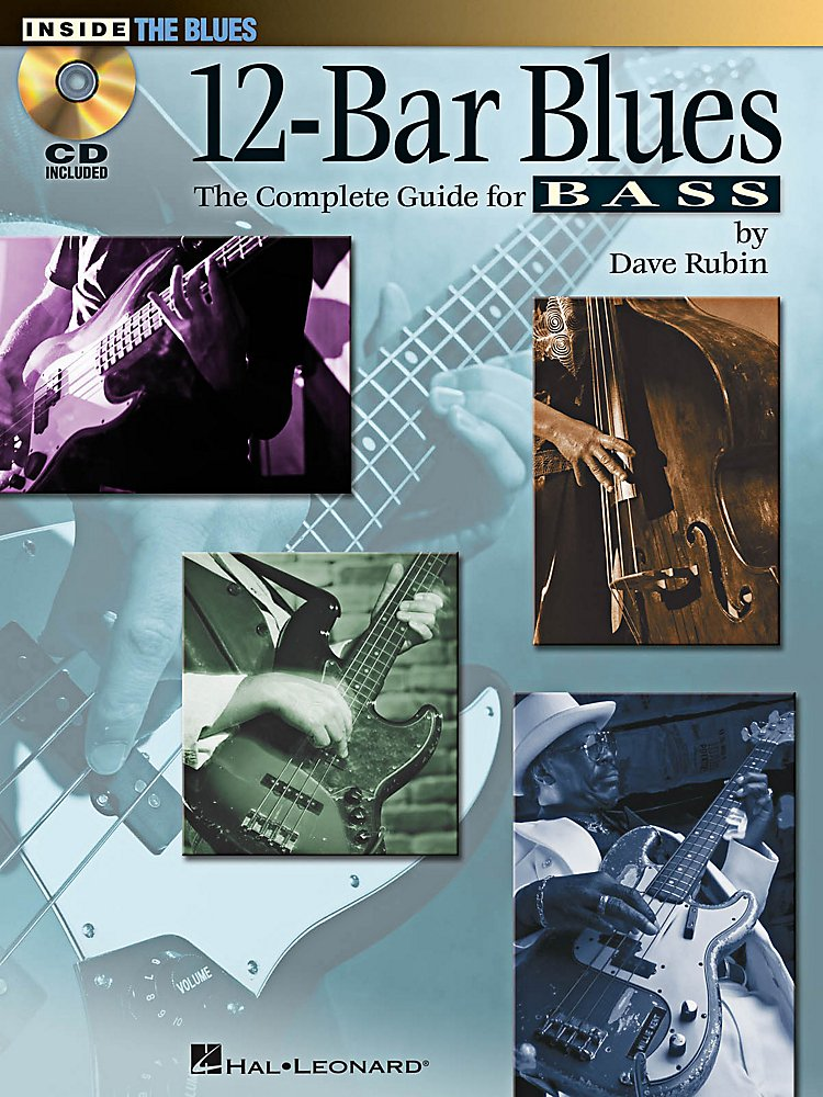 Hal Leonard - 12-Bar Blues Bass Book/CD