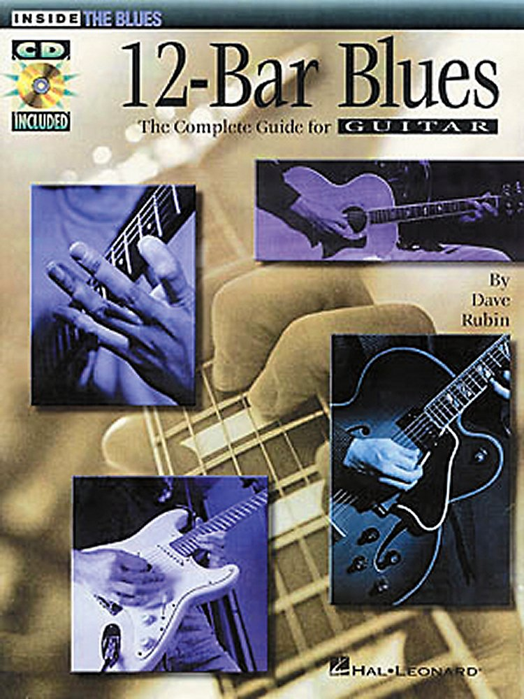 Hal Leonard - 12-Bar Blues Guitar Book/Cd