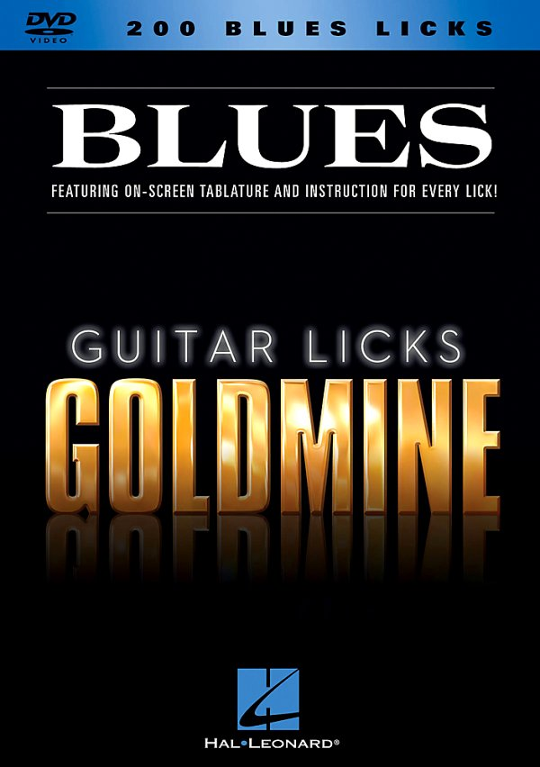 Hal Leonard - 200 Blues Licks - Guitar Licks Goldmine DVD Series