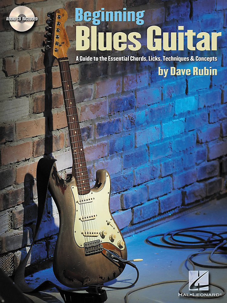 Hal Leonard - Beginning Blues Guitar (Book/Cd)