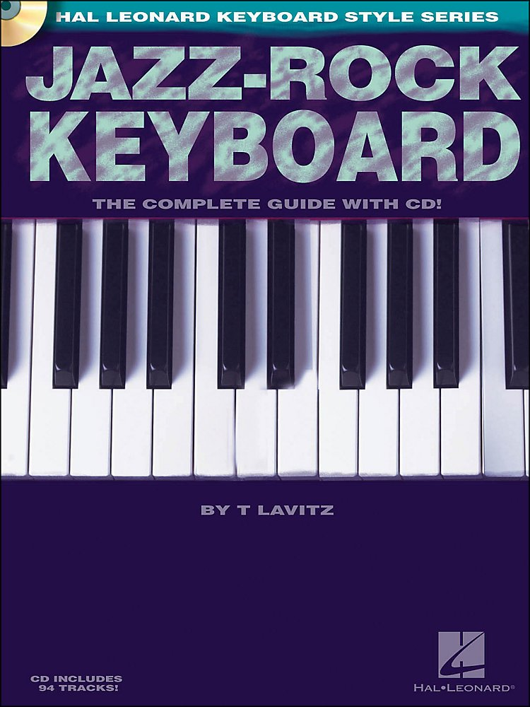 Hal Leonard - Jazz-Rock Keyboard Book/CD