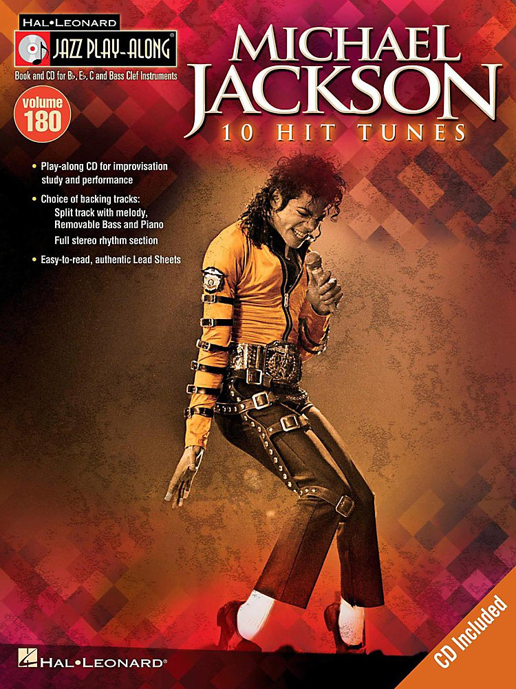 Hal Leonard - Michael Jackson - Jazz Play-Along Volume 180 Book/Cd