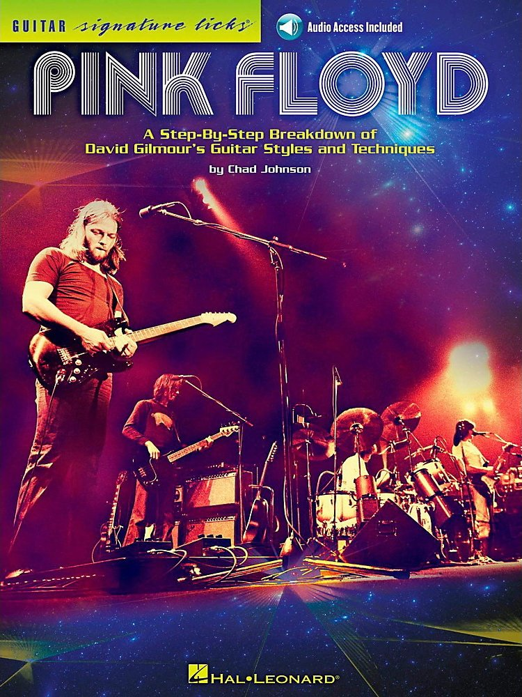 Hal Leonard - Pink Floyd - Guitar Signature Licks Book/Online Audio