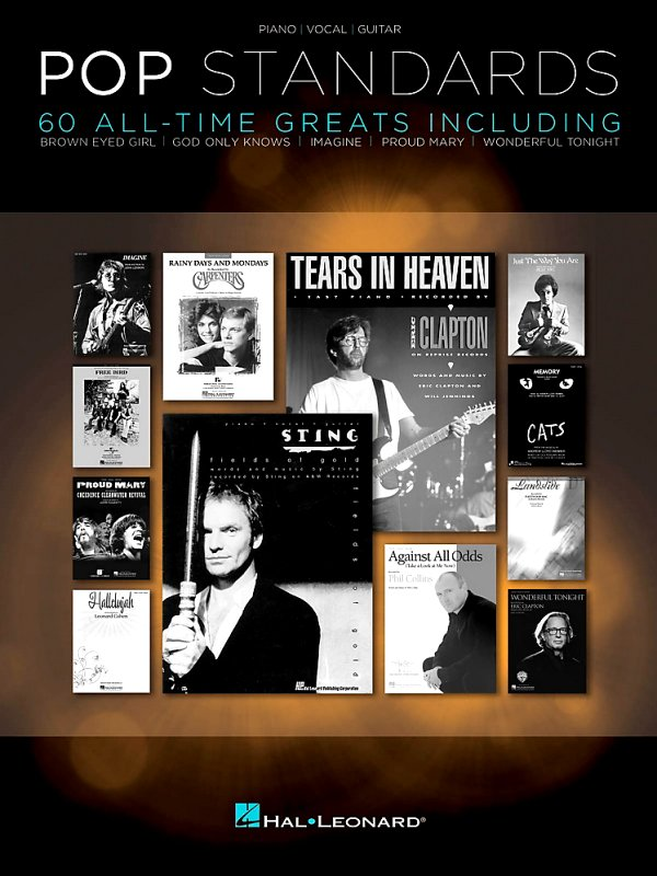 Hal Leonard - Pop Standards - 60 All Time Greats for Piano/Vocal/Guitar (PVG)