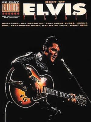 Hal Leonard - The Best Of Elvis Presley Easy Guitar Tab Book