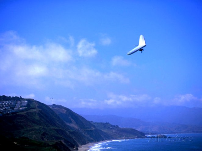 Hang Gliding at Fort Funston, San Francisco, California