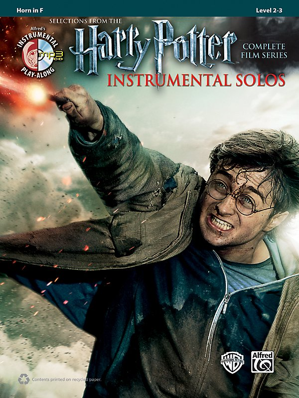 Alfred - Harry Potter Instrumental Solos For Horn In F - Book/Cd