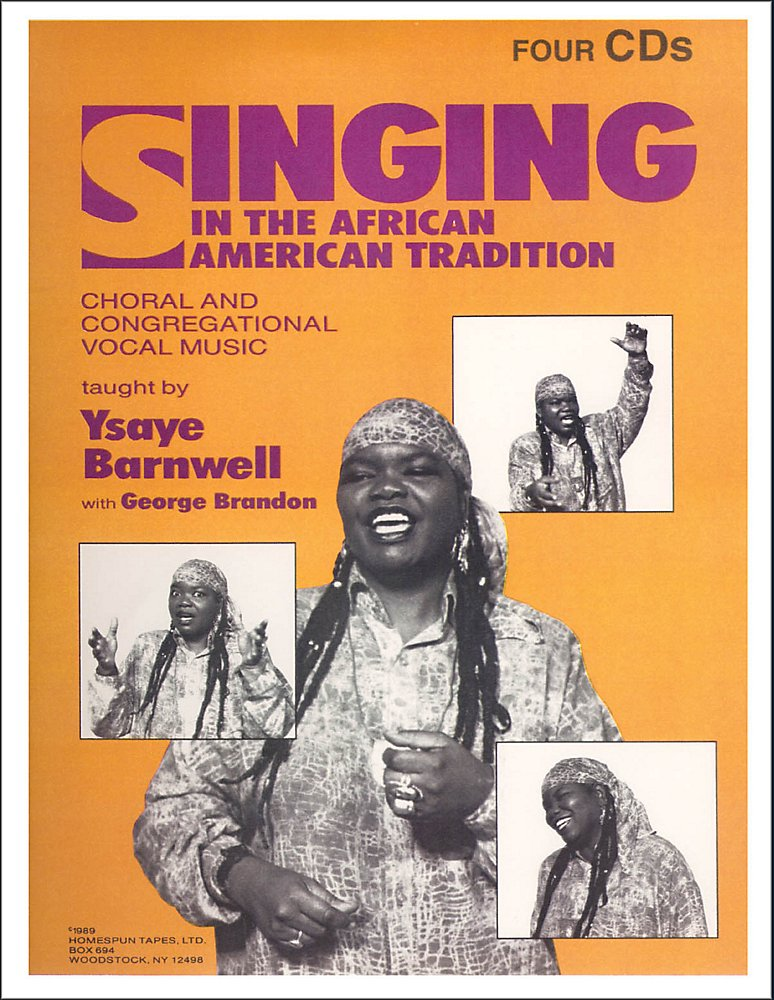 Book and 4 CDs: Homespun Singing In The African American Tradition