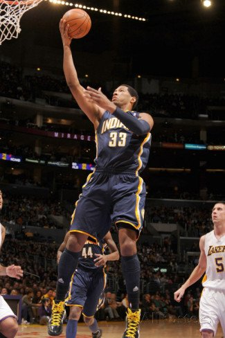 Indiana Pacers v Los Angeles Lakers: Danny Granger