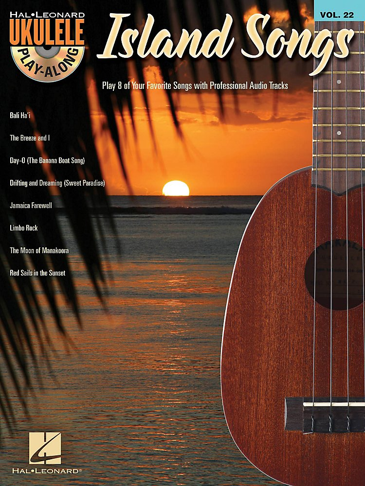 Hal Leonard - Island Songs  Ukulele Play Along Volume 22 Book / Cd