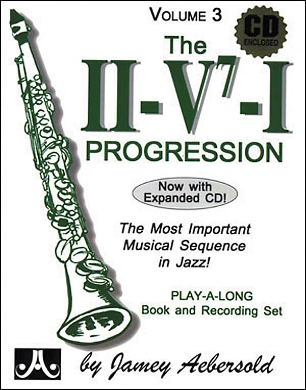 Jamey Aebersold - The II/V7/I Progression - Book and CD