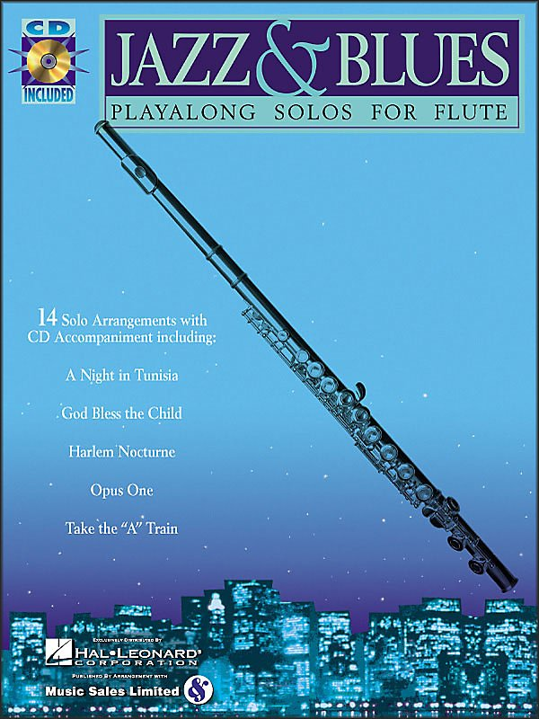 Hal Leonard - Jazz And Blues Playalong Solos For Flute Book/Cd