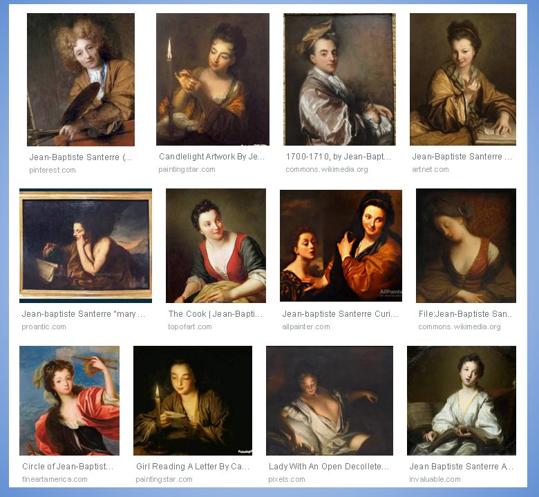 Jean Baptiste Santerre Artworks, Google Search