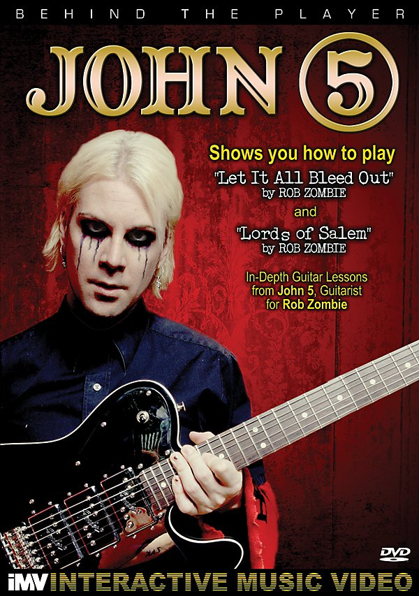 Alfred - John 5 - Behind the Player (DVD)