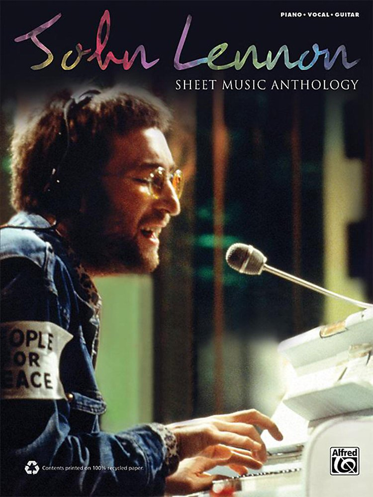 Alfred - John Lennon - Sheet Music Anthology P/V/C Book