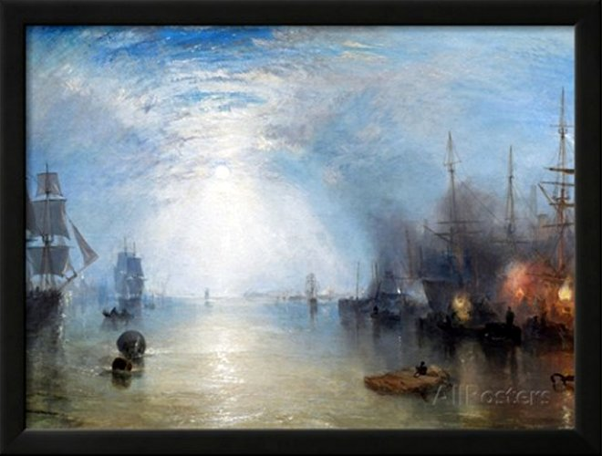 Keelmen Heaving in Coals by J. M. W. Turner