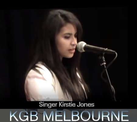 Kingsley George - Singer Kirstie Jones - Melbourne Bands