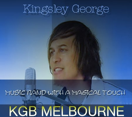 Kingsley George - Singer, Instrumentalist, Entertainer, Melbourne Live Music