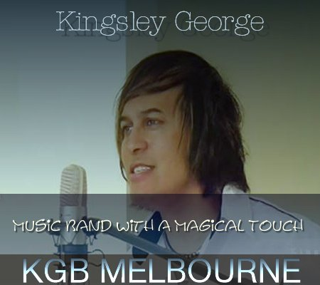 Music Band with a Magical Touch - Kingsley George Band, Melbourne
