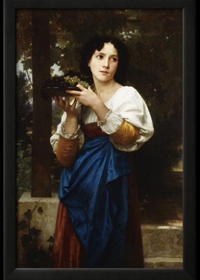 La Treille by William-Adolphe Bouguereau - Giclee Print