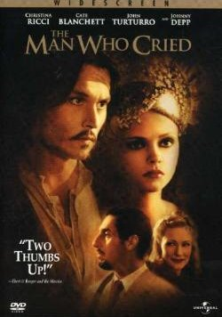 The Man Who Cried, Johnny Depp, DVD and VHS Video