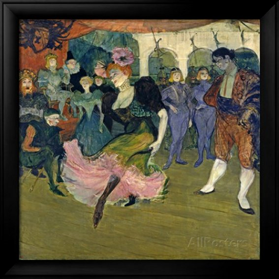 Marcelle Lender Dancing the Bolero in 'Chilperic', 1895 by Henri de Toulouse-Lautrec