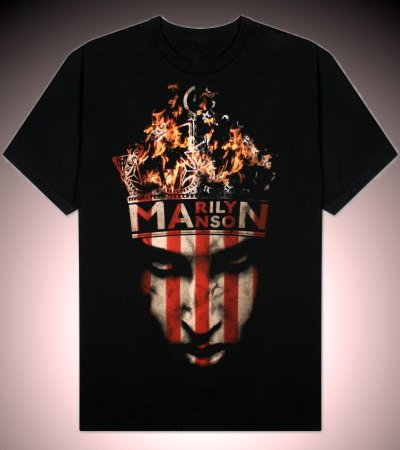 Marilyn Manson - American King - T-Shirt