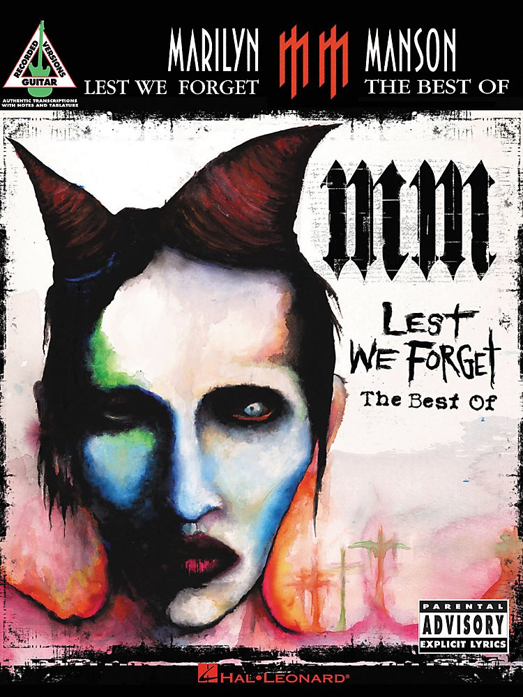 Hal Leonard - Marilyn Manson Lest We forget The Best of Guitar Tab Songbook
