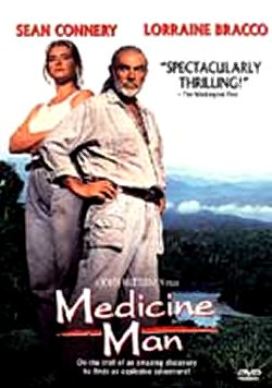 Medicine Man, Sean Connery, DVD