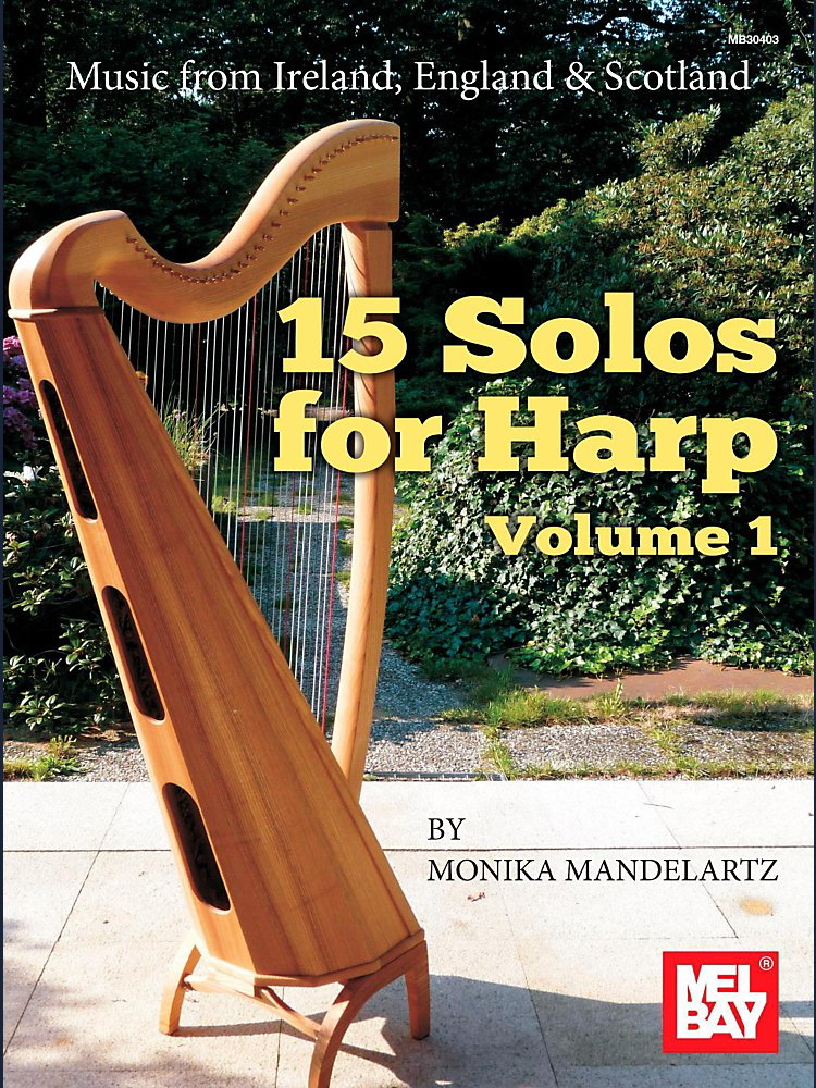 Mel Bay - 15 Solos For Harp Volume 1