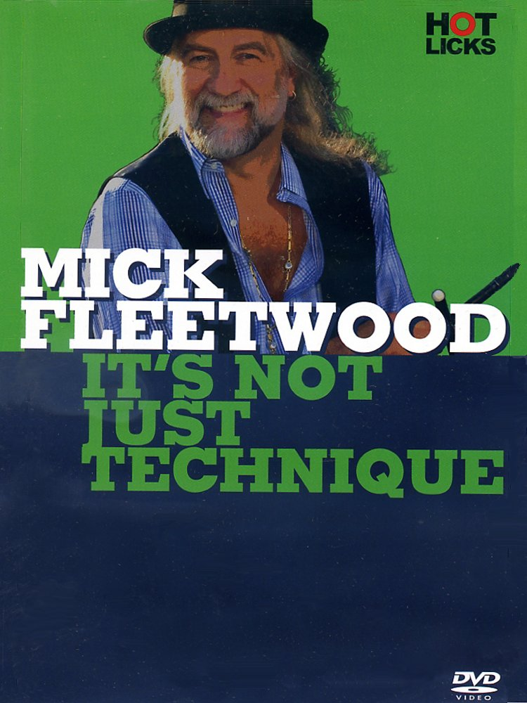 Music Sales - Mick Fleetwood It's Not Just Technique Drum Dvd