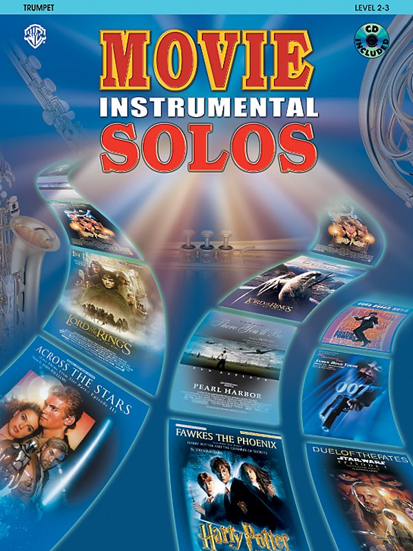Alfred - Movie Instrumental Solos For Trumpet Book/Cd