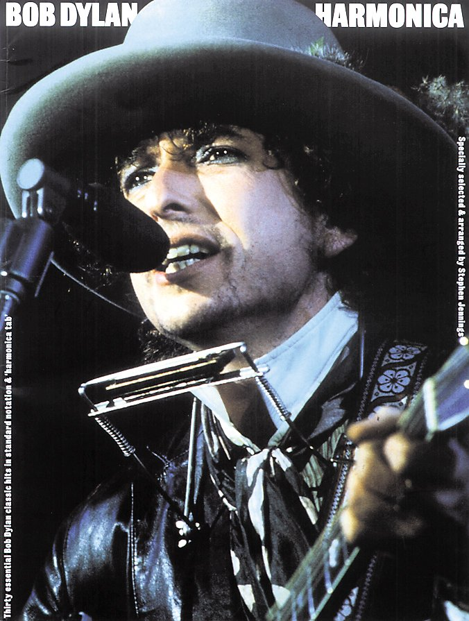 Music Sales - Bob Dylan Harmonica (Book)