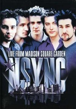 NSYNC Live at Madison Square Garden dvd