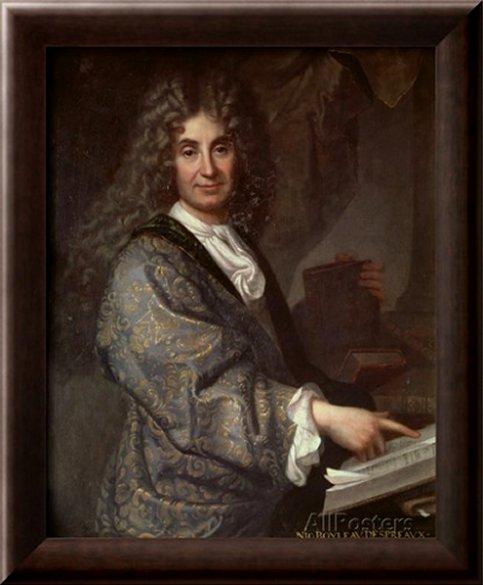 Nicolas Boileau by Jean-Baptiste Santerre