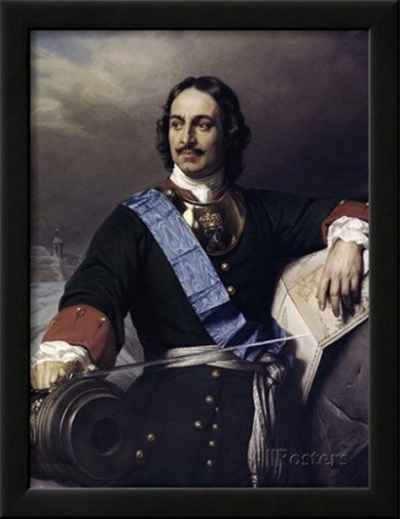 Peter the Great by Paul Delaroche