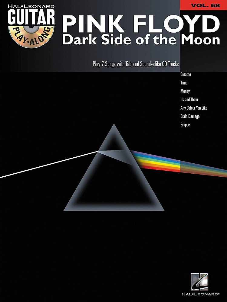 Pink Floyd Dark Side Of The Moon Guitar  Vol 68 Book & Cd