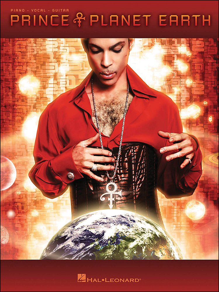 Hal Leonard - Prince Planet Earth [Book]