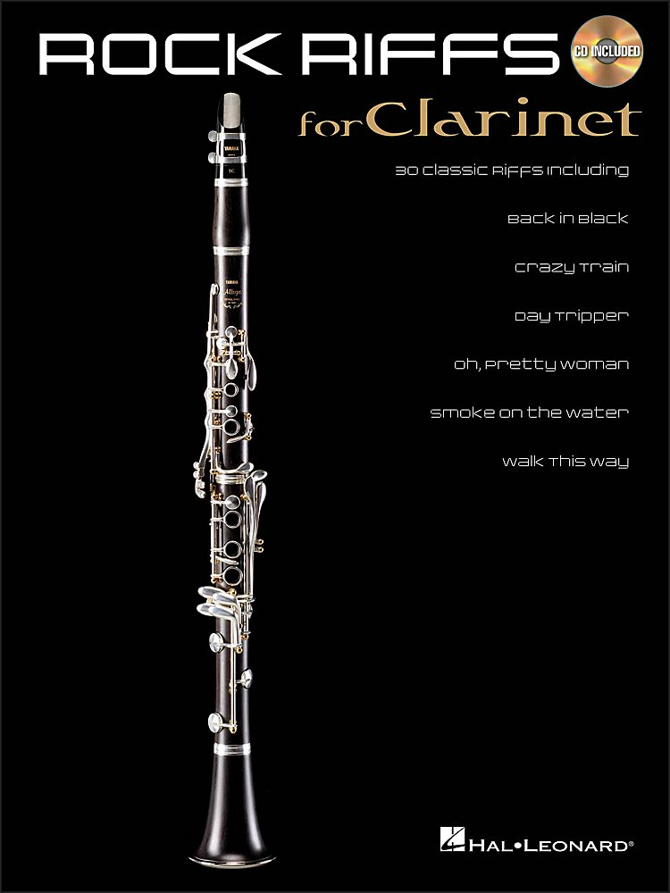 Hal Leonard - Rock Riffs for Clarinet Book/CD
