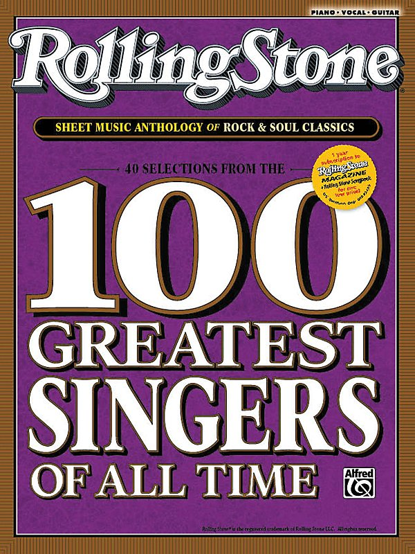 Alfred - Rolling Stone Sheet Music Anthology of Rock & Soul Classics (Book)