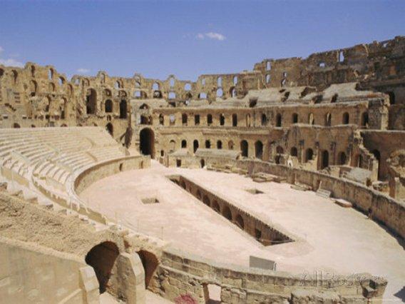Roman Amphitheatre of El Djem, Tunisia, North Africa