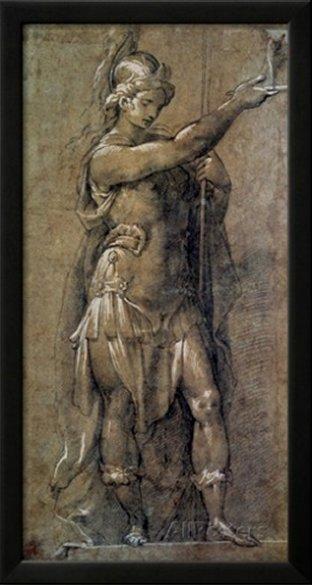 Roman God Mars by Giovanni Battista Crespi