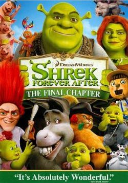 Shrek Forever After DVD